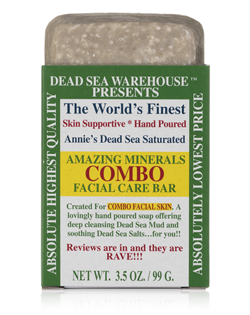Dead Sea Warehouse Amazing Minerals Combo Facial Care Bar