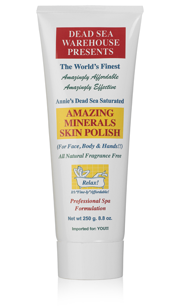 Dead Sea Warehouse Amazing Minerals Skin Polish